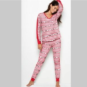Victoria secret thermal pj set